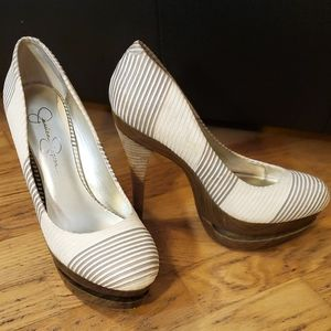 Jessica Simpson Colie high heels